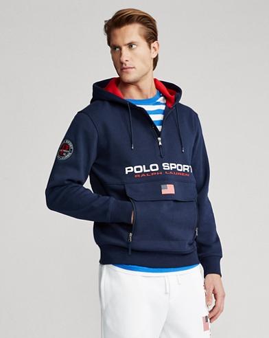 Sweat à capuche Polo Sport