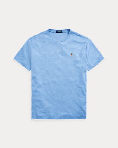 폴로 랄프로렌 Polo Ralph Lauren Classic Soft Cotton T-Shirt,Soft Royal Heather