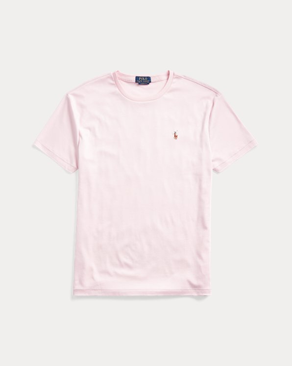 폴로 랄프로렌 Polo Ralph Lauren Classic Soft Cotton T-Shirt,Garden Pink