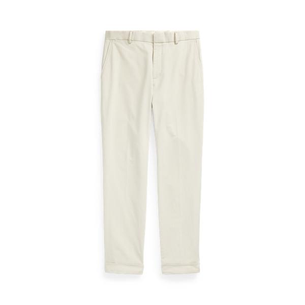 폴로 랄프로렌 스트레치 치노 수트 팬츠 - 스톤 Polo Ralph Lauren Stretch Chino Suit Trouser 481494