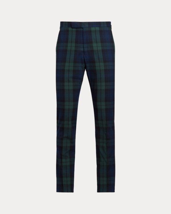 Tartan Seersucker Suit Trouser