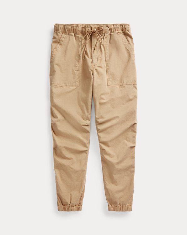 Stretch Relaxed Fit Twill Pant