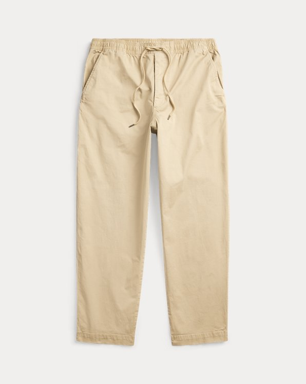Relaxed-Fit Stretch-Chino