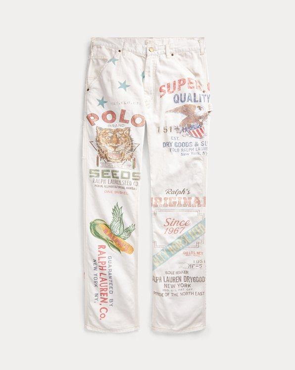 The Graphic Carpenter Trouser