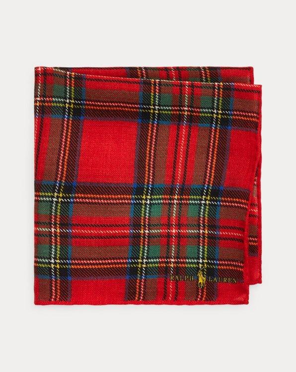 Tartan Wool Pocket Square