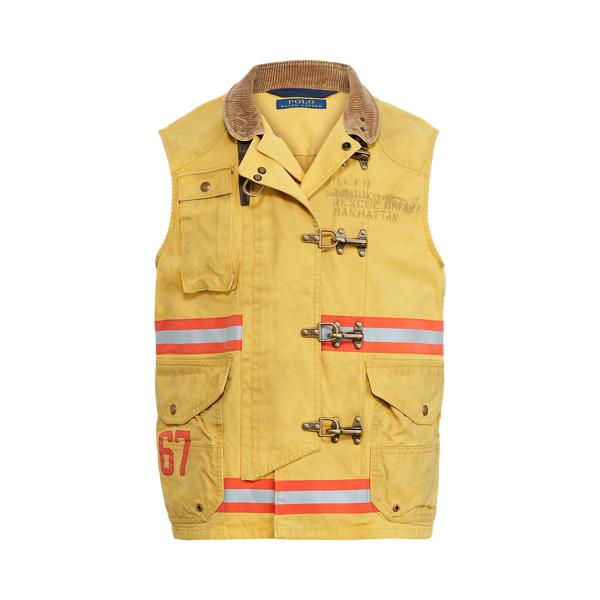 폴로 랄프로렌 Polo Ralph Lauren The Cortland Vest,Slicker Yellow