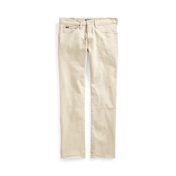 폴로 랄프로렌 Polo Ralph Lauren Varick Slim Straight Jean,Hudson Light Khaki