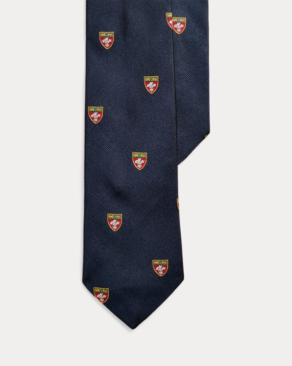 Silk Narrow Club Tie