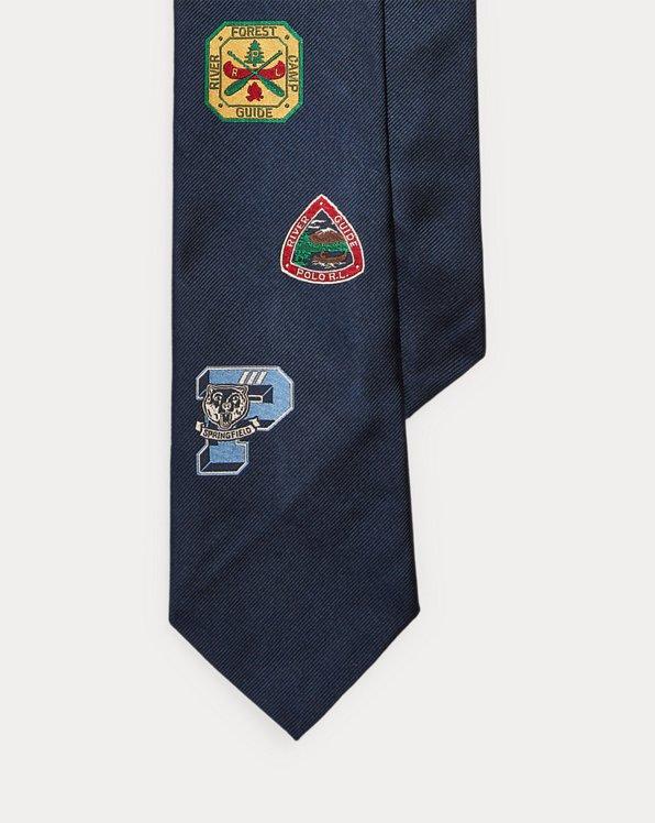 Collegiate Camp Silk Tie