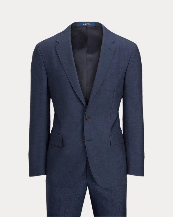 Polo Pin Dot Wool Suit