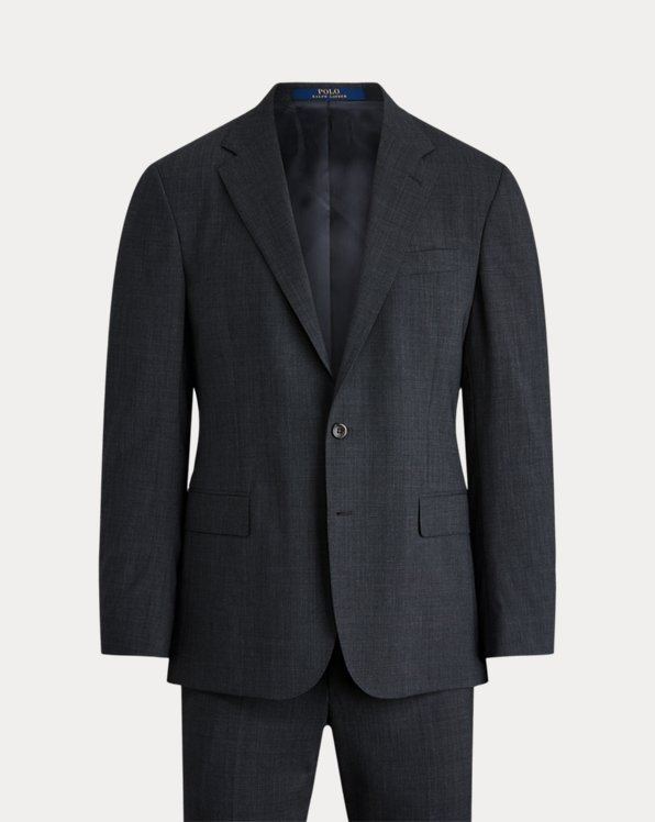 Polo Stretch Glen Plaid Suit
