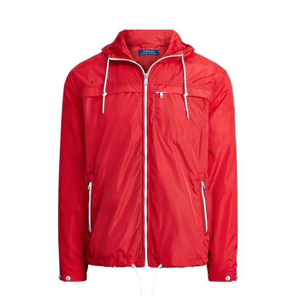 폴로 랄프로렌 Polo Ralph Lauren Packable Hooded Jacket,RL 2000 Red