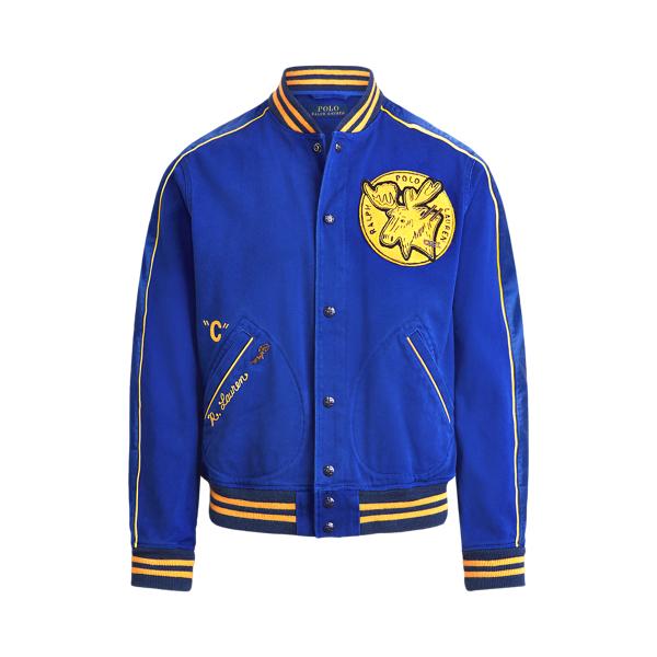 폴로 랄프로렌 Polo Ralph Lauren Sportsman Baseball Jacket,Heritage Royal
