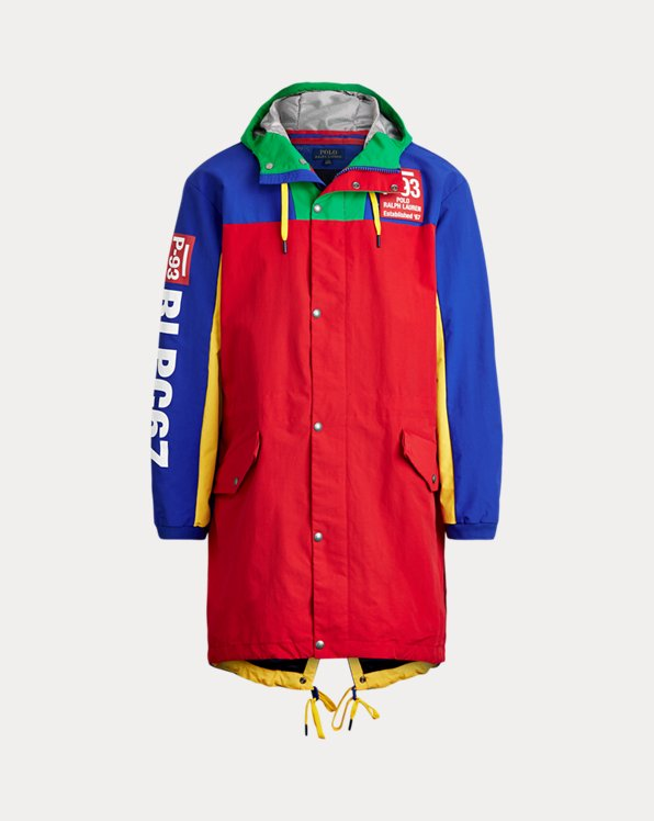 P-93 Colour-Blocked Marsh Coat