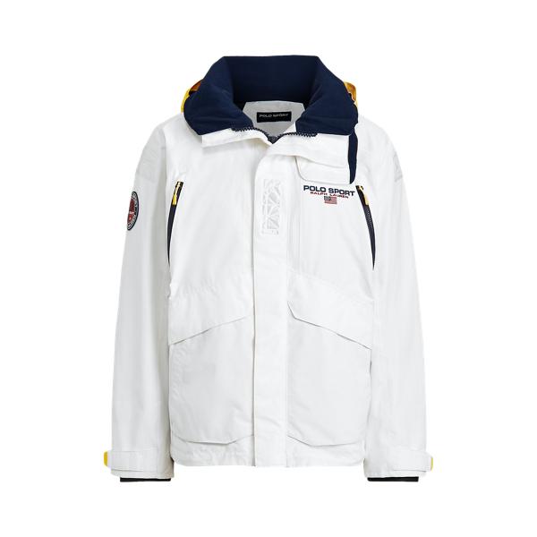 폴로 랄프로렌 Polo Ralph Lauren Polo Sport Hooded Jacket,Pure White
