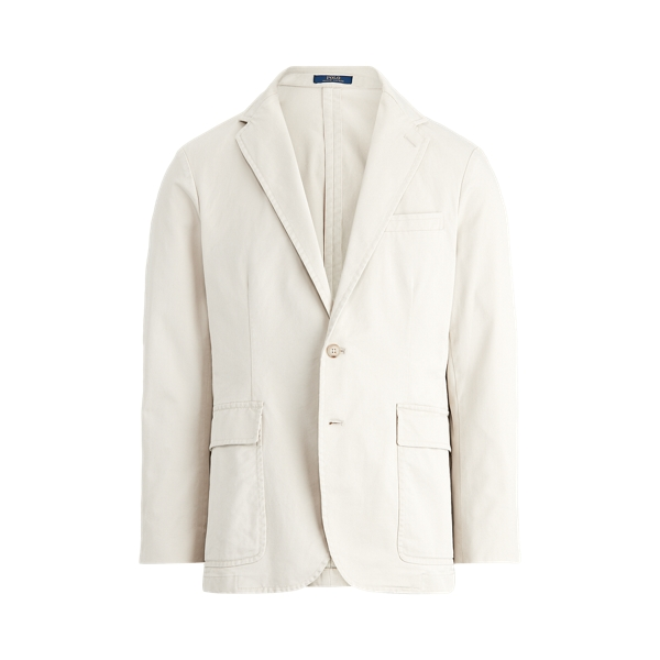 폴로 랄프로렌 Polo Ralph Lauren Polo Unconstructed Chino Suit Jacket,Stone