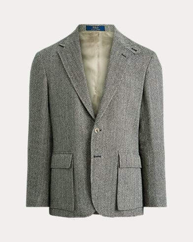 The RL67 Herringbone Jacket