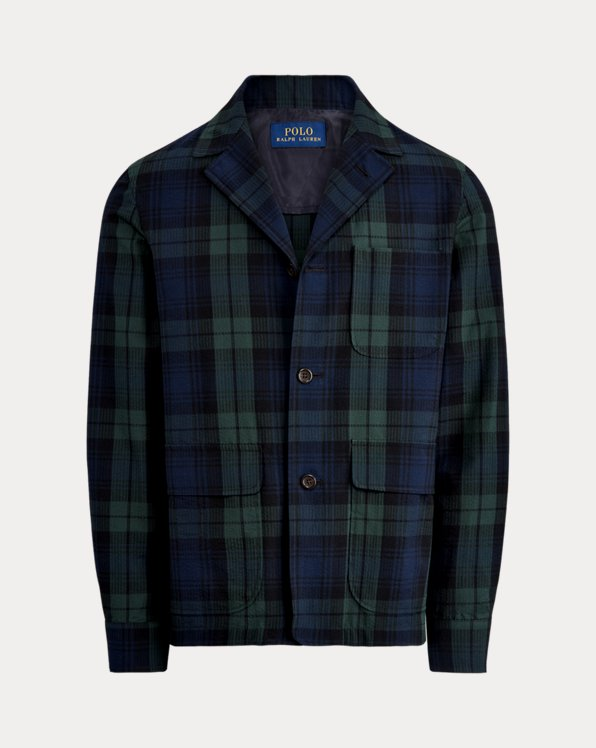 Tartan Seersucker Suit Jacket