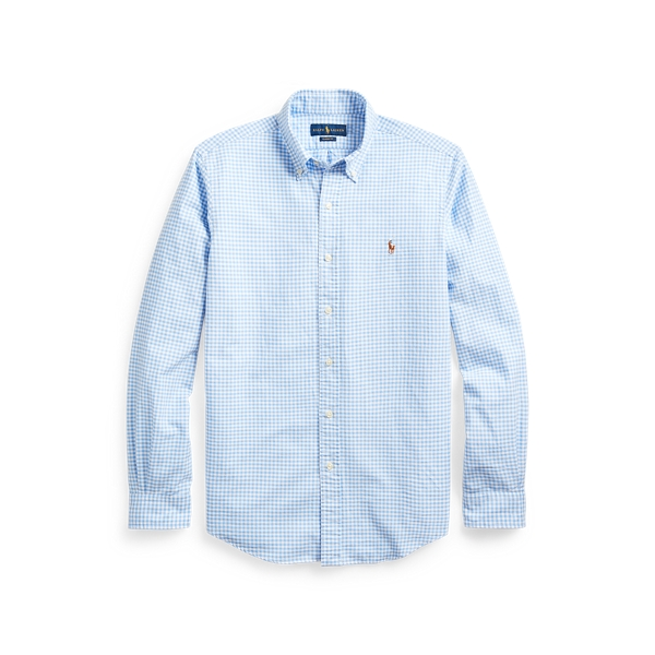 폴로 랄프로렌 Polo Ralph Lauren Classic Fit Gingham Shirt,Light Blue/White