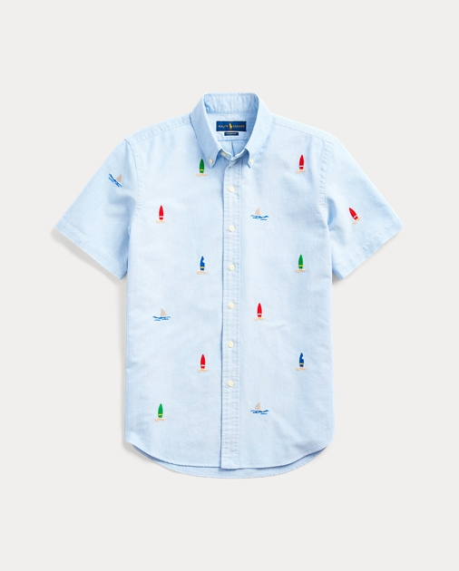 Classic Fit Embroidered Shirt
