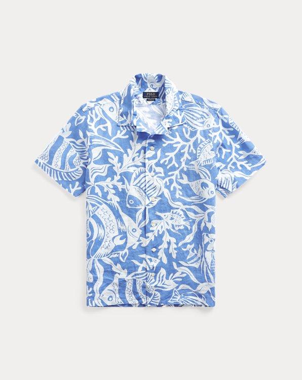 Paisley Original Printed Short Sleeve Shirt Size XS-2XL Big,Historical Moroccan