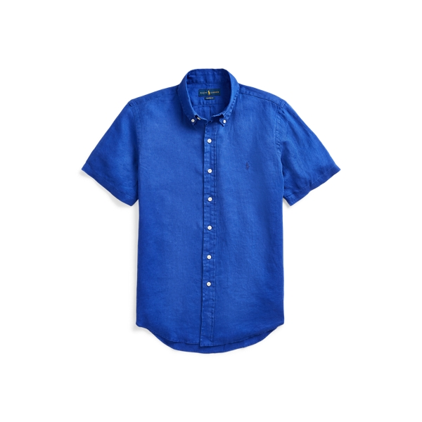폴로 랄프로렌 Polo Ralph Lauren Classic Fit Linen Shirt,Summer Royal