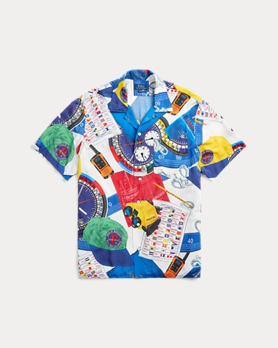 The Nautical Racing Camp Shirt