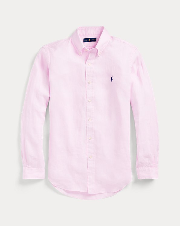 Camicia in lino Slim-Fit