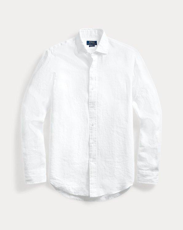 Linen Chambray Shirt- All Fits