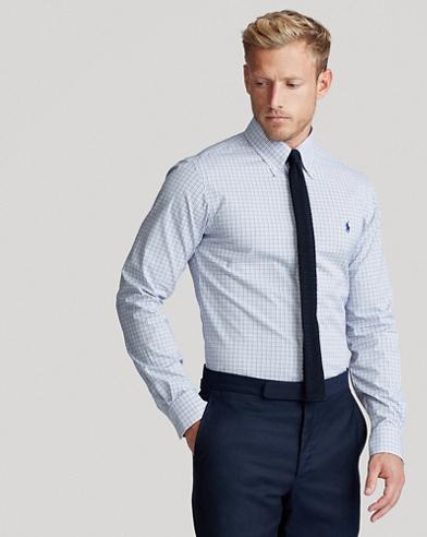 Custom Fit Checked Shirt