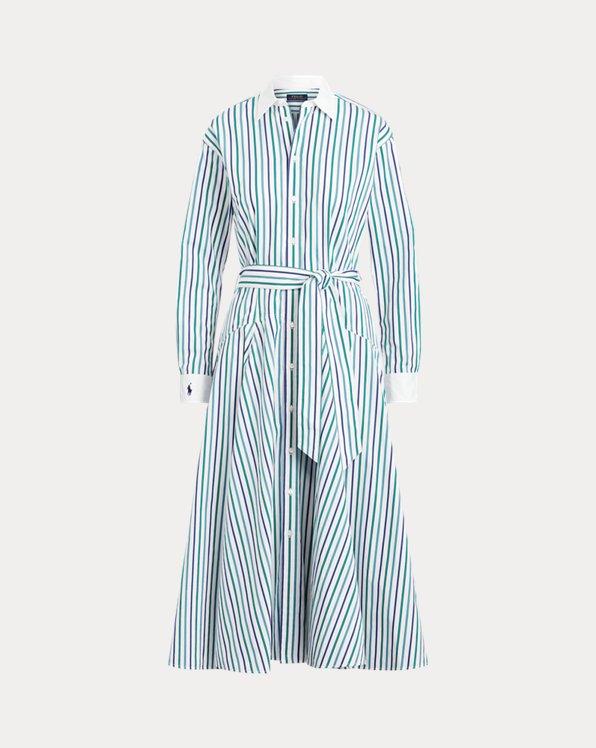 Cotton A-Line Shirtdress