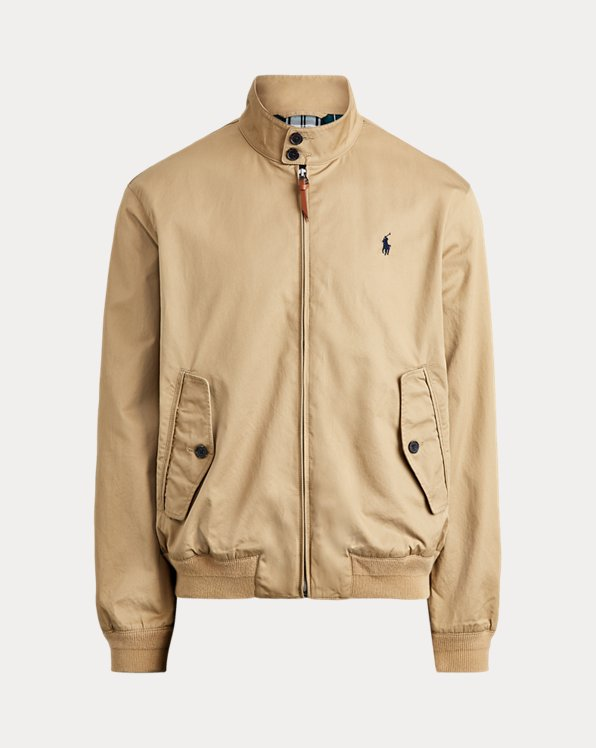 Twill Mockneck Jacket