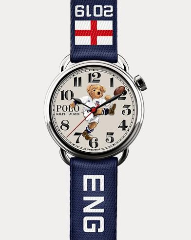 Armbanduhr mit England Kicker Bear