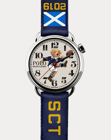 Scotland Kicker Bear Watch
