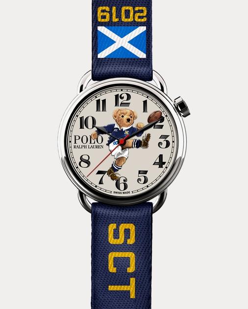 Polo Ralph Lauren Scotland Kicker Bear Watch 1
