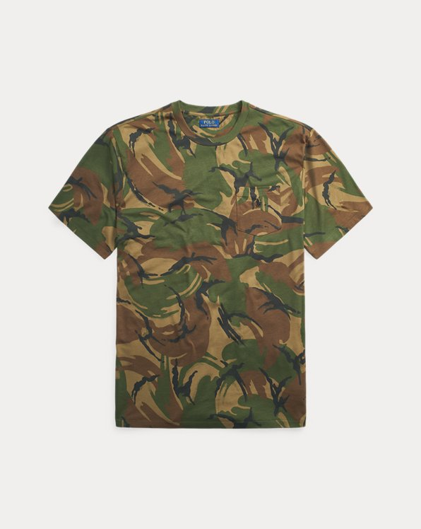 Camo Cotton Pocket T-Shirt