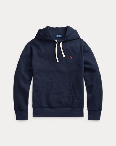 Fleece-Kapuzenshirt