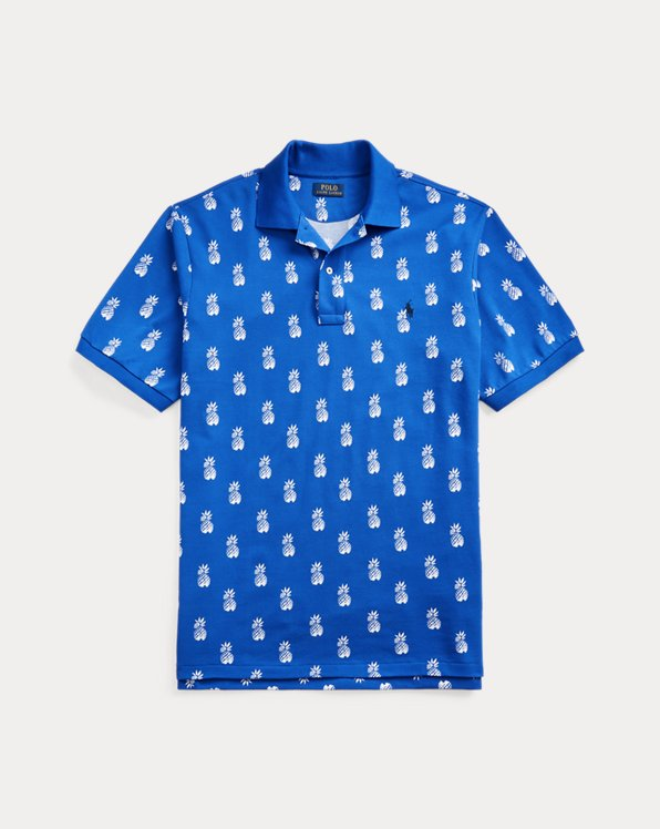 Pineapple Mesh Polo Shirt