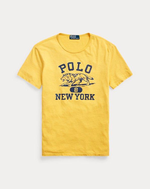 Camiseta estampada de punto jersey