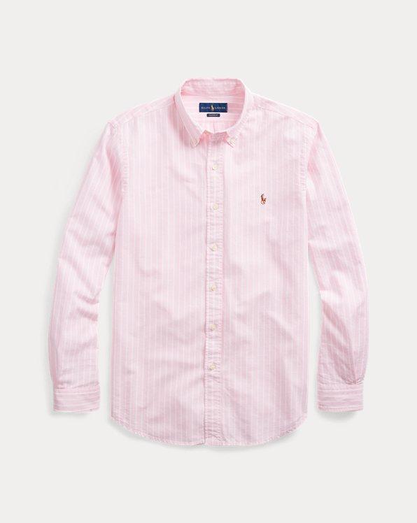 Oxfordhemd mit Streifen