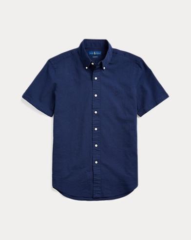 Classic-FitSeersucker-Hemd