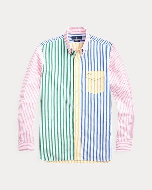 Striped Poplin Fun Shirt