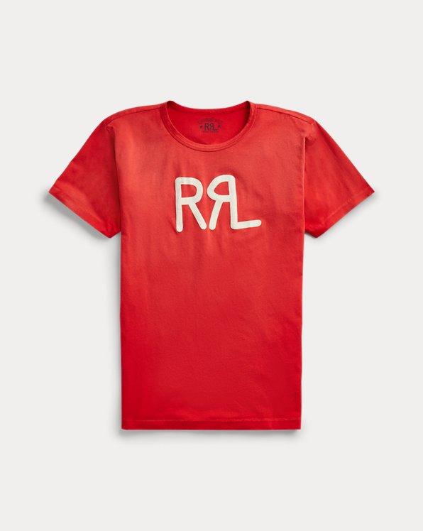 T-shirt à monogramme en jersey