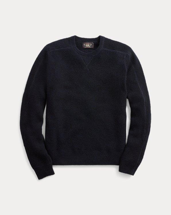 Waffle-Knit Cashmere Jumper