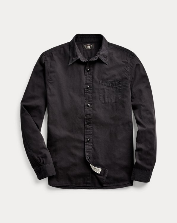 Garment-Dyed Twill Workshirt