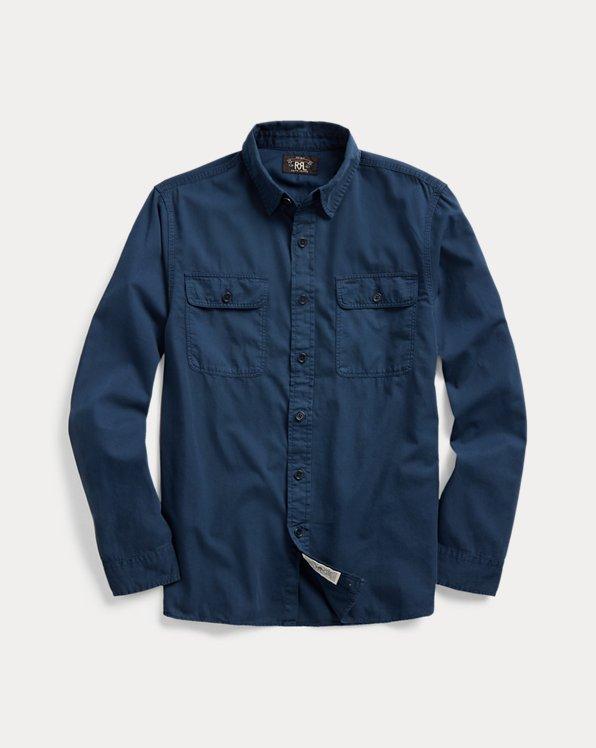 Garment-Dyed Twill Workshirt
