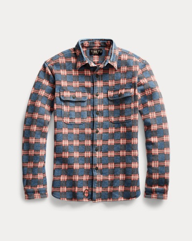 Repaired Jacquard Workshirt