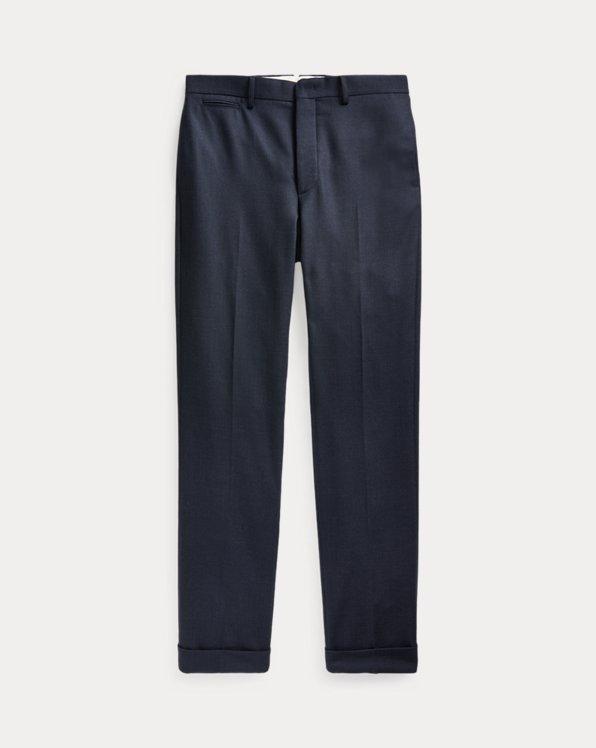 Slim Wool Suit Trouser