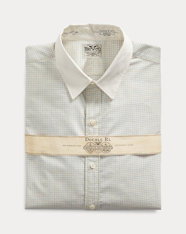 Camicia Grant a quadri Slim-Fit