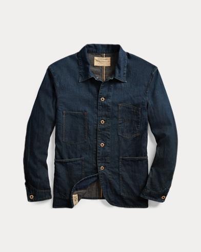 Selvedge Denim Engineer Jacket